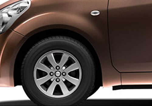 Maruti Ritz Wheel and Tyre Exterior Picture
