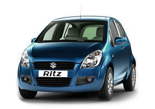 Maruti Suzuki Ritz Front Angle High View Picture