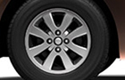 Maruti Ritz Wheel & Tyre Picture