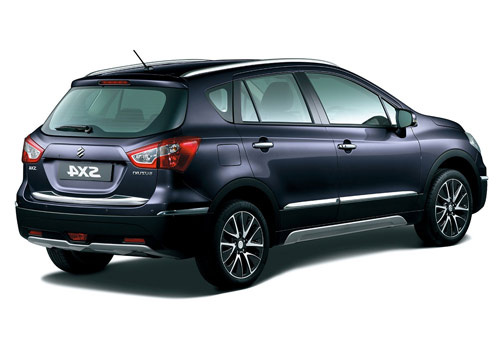 Maruti S Cross Rear Angle View Exterior Picture