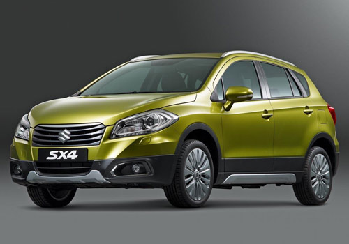 Maruti S Cross Front High Angle View Exterior Picture