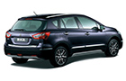 Maruti S Cross Rear Angle View Picture