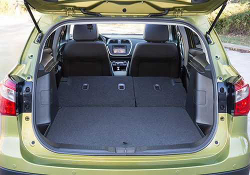 Maruti S Cross Boot Open Interior Picture