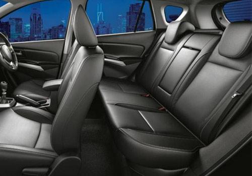 Maruti Suzuki S-Cross Rear Seat Picture