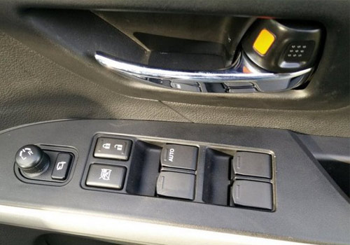 Maruti S Cross Driver Side Door Control Interior Picture