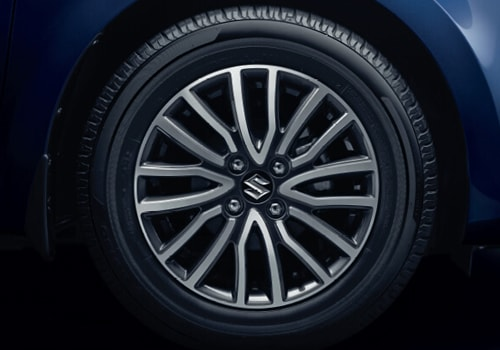 Maruti Swift Dzire Wheel and Tyre Exterior Picture