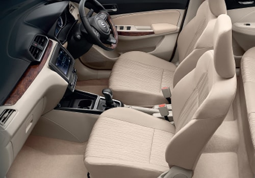 Maruti Swift Dzire Front Seats Interior Picture