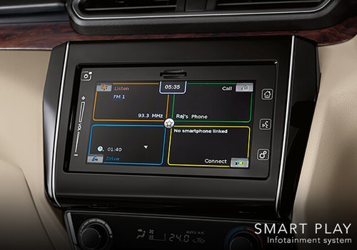 Maruti Swift Dzire Stereo Interior Picture