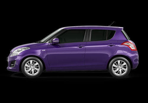 Maruti Swift Front Side View Profile