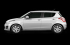 Maruti Swift in White Color