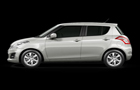 Maruti Swift in Grey Color