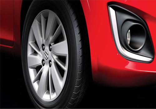 Maruti Swift Wheel and Tyre Exterior Picture