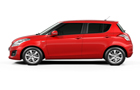 Maruti Swift Front Angle Side View Picture