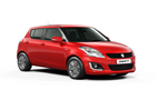 Maruti Swift Front Low Angle View Picture