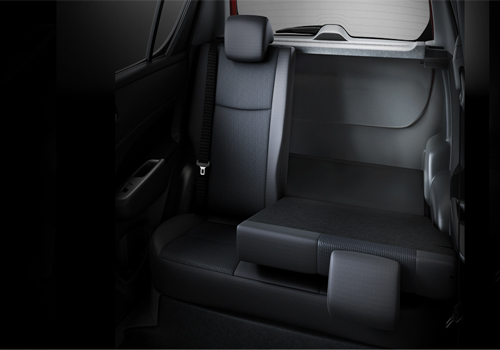Maruti Swift Rear Seats Interior Picture