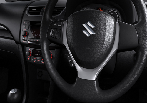 Maruti Swift Steering Wheel Interior Picture