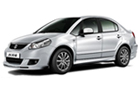 Maruti SX4 in White Color