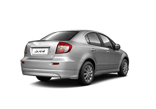 Maruti SX4 Rear Angle View Exterior Picture