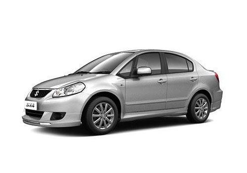 Maruti SX4 Front Angle Low Wide Exterior Picture