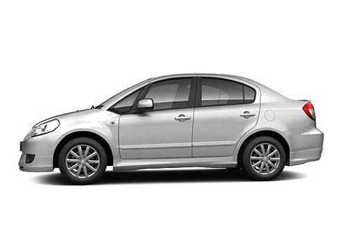 Maruti SX4 Front Angle Side View Exterior Picture