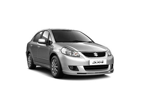 Maruti SX4 Front Low Angle View Exterior Picture