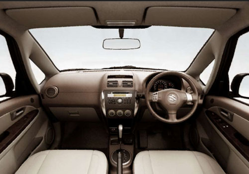Maruti SX4 Central Control Interior Picture
