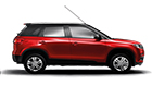 Maruti Vitara Brezza Blazing Red with Midnight Black