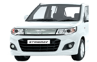 Maruti Wagon R Stingray in Superior White Color
