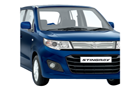 Maruti Wagon R Stingray in Midnight Blue Color