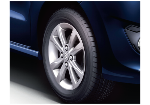 Maruti Wagon R Stingray Wheel and Tyre Exterior Picture