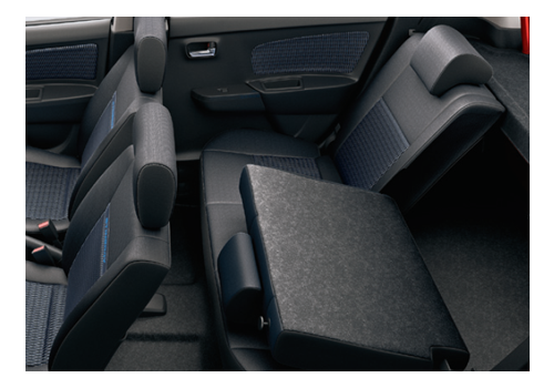 Maruti Suzuki Stingray Rear Seat Pictures