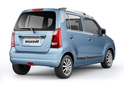 Maruti Wagon R Rear Angle View Exterior Picture