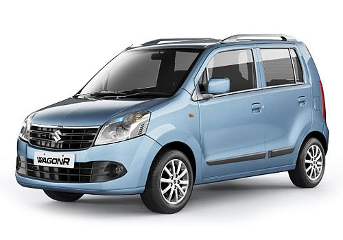 Maruti Suzuki Wagon R Front Side View Picture