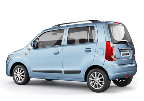 Maruti Wagon R Cross Side View Exterior Picture