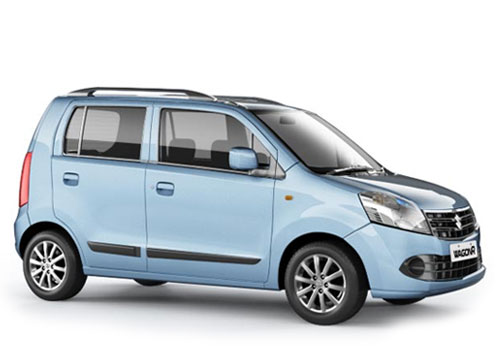 Maruti Wagon R Front Side View Exterior Picture