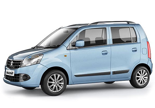 Maruti Wagon R Front Angle Low Wide Exterior Picture
