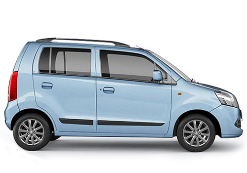 Maruti Wagon R Side Medium View Exterior Picture