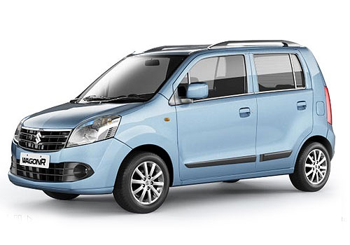 Maruti Wagon R Front Medium View Exterior Picture