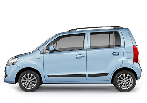 Maruti Wagon R Front Angle Side View Exterior Picture