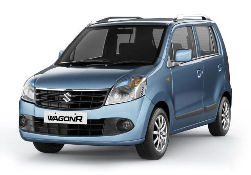 Maruti Wagon R Front High Angle View Exterior Picture