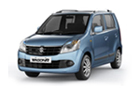 Maruti Wagon R Front High Angle View Picture