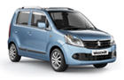 Maruti Wagon R Front Low Angle View Picture