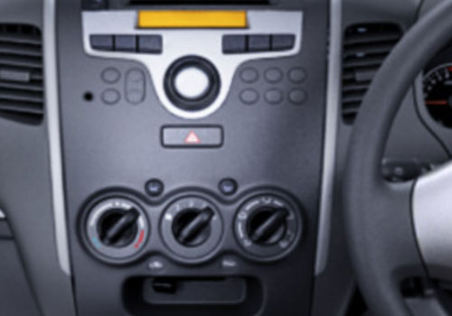 Maruti Wagon R Rear AC Control Interior Picture