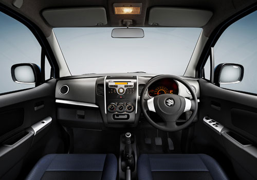 Maruti Wagon R Central Control Interior Picture
