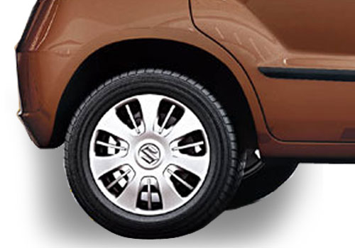Maruti Zen Estilo Wheel and Tyre Exterior Picture