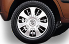 Maruti Zen Estilo Wheel and Tyre Picture