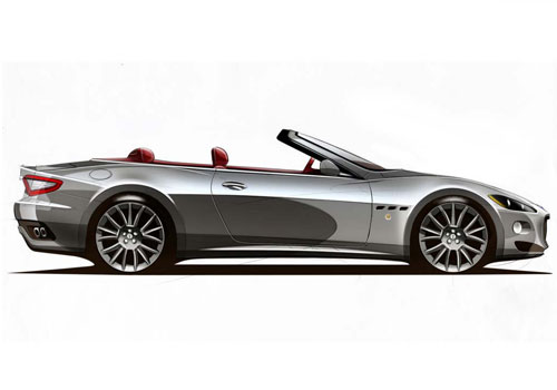 Maserati Gran Cabrio Side Medium View Exterior Picture