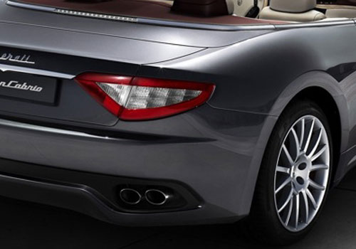 Maserati Gran Cabrio Tail Light Exterior Picture
