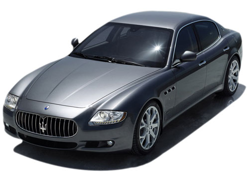 Maserati Quattroporte Front High Angle View Exterior Picture