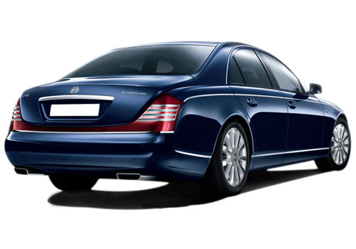 Maybach 57 S Rear Angle View Exterior Picture
